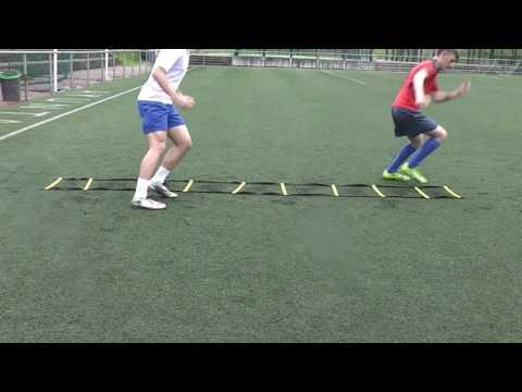 Mimbres de fútbol. Coordinación escalera