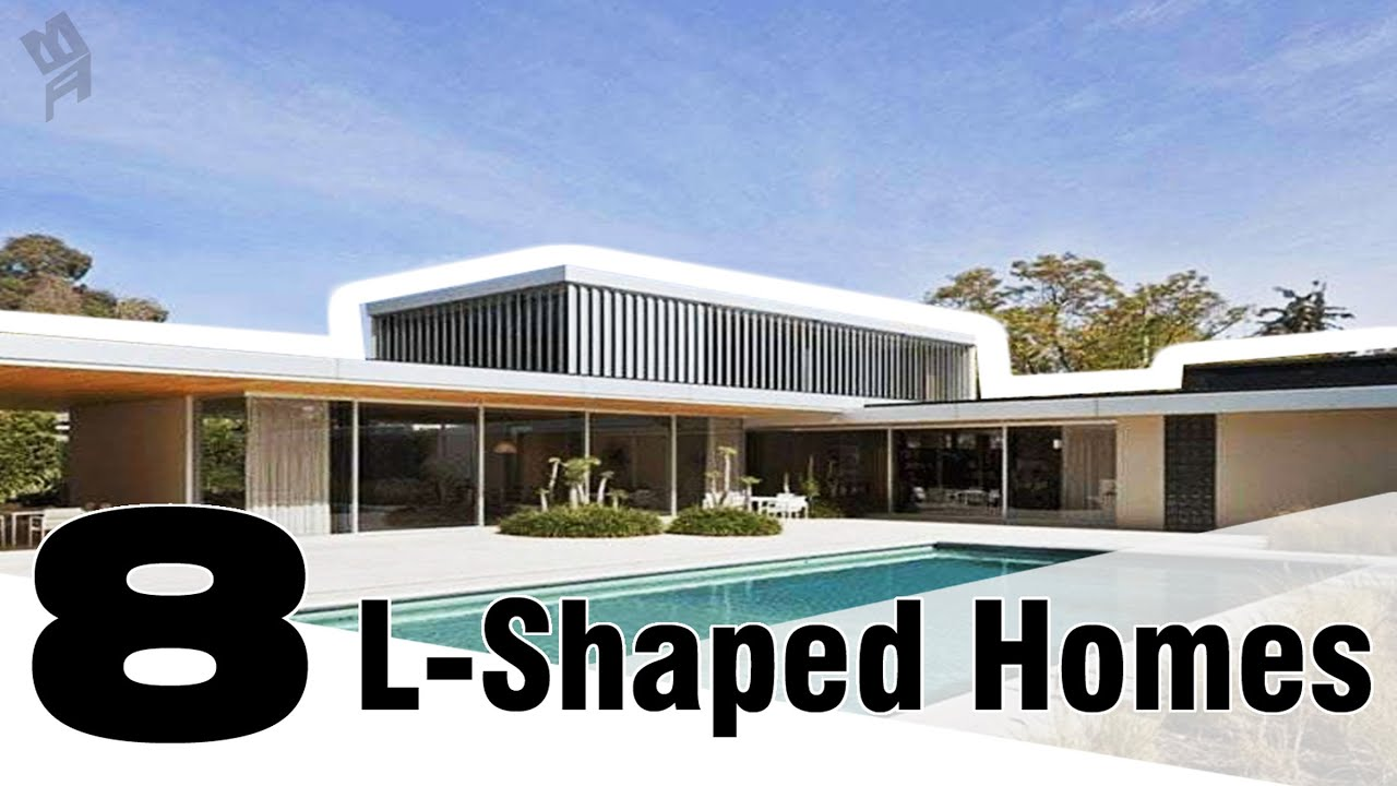 8 Modern L Shaped Houses You Will Admire Youtube