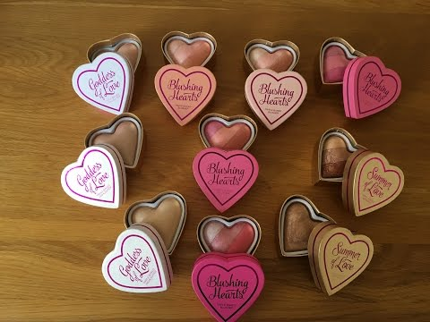 I Heart Makeup Blushing Hearts / Collection