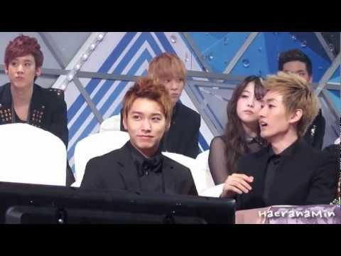 [Fancam] 111229 SBS가요대전 Sungmin - 해민없어서 편집 안하려다가ㅠㅠ