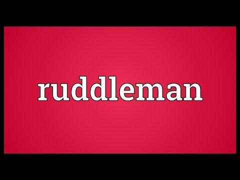 Header of ruddleman