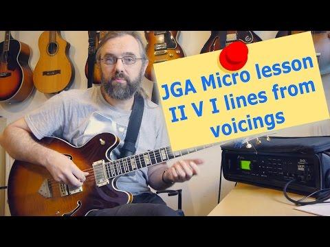 Micro lesson -  JGA II V I -  Directors Un-cut
