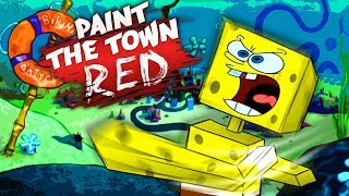 FIST FIGHT AT BIKINI BOTTOM (Paint the Town Red)