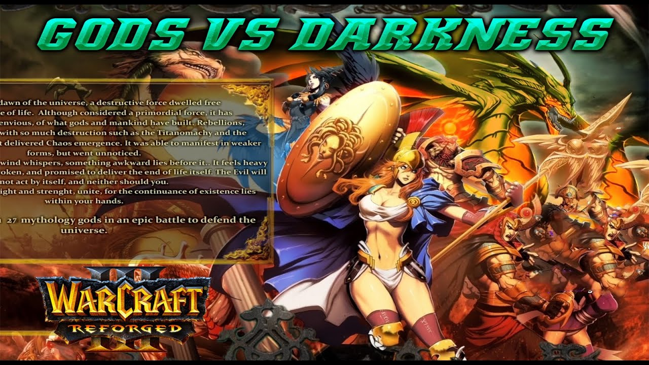 Warcraft 3 REFORGED | Gods Against the Darkness | Cerberus OP