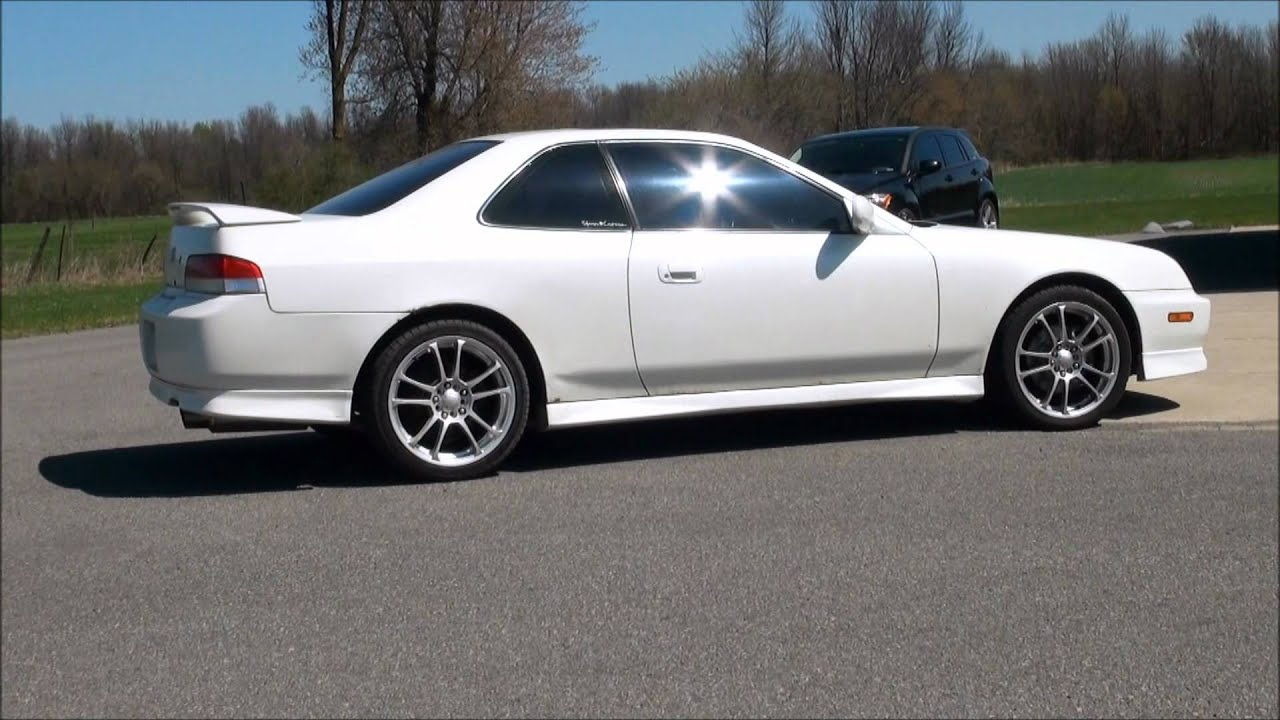 1998 honda prelude sh exhaust start up drive by youtube. Black Bedroom Furniture Sets. Home Design Ideas