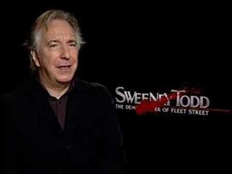 Sweeney Todd - Interview Alan Rickman