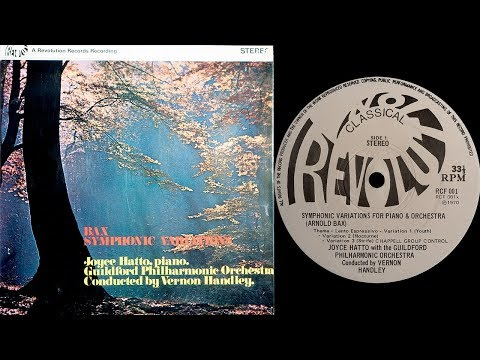 Bax - Symphonic Variations (Hatto, Handley) (vinyl: Miyajima, Graham Slee, CTC Classic 301)