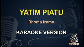 YATIM PIATU Karaoke Rhoma Irama ( Karaoke Dangdut Koplo )