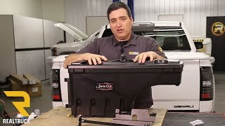 How To Install Undercover Swing Case Truck Bed Tool Box