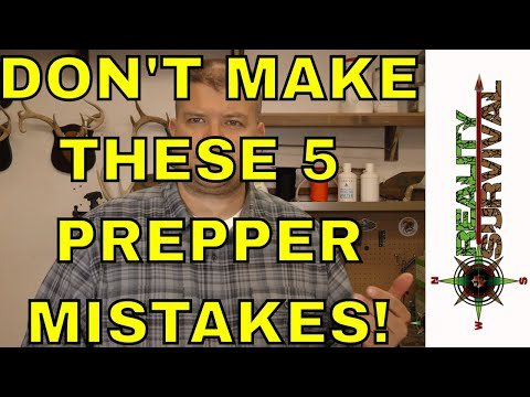 Don't Make These 5 Prepping Mistakes