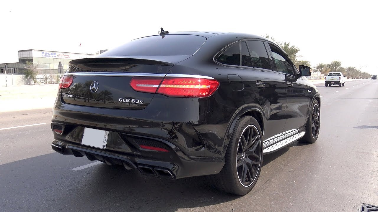 Gle 63s Amg >> Mercedes Amg Gle 63 S Coupe Rs800 Brutal Exhaust Sounds