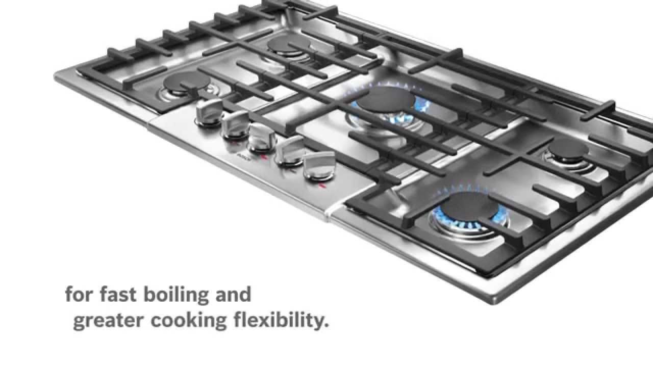 Bosch Dual Stacked Gas Burner Youtube