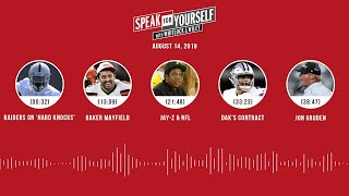 SPEAK FOR YOURSELF Audio Podcast (8.14.19) with Marcellus Wiley, Jason Whitlock | SPEAK FOR YOURSELF