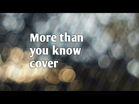 Axwell /\ Ingrosso - More Than You Know Cover Lyric