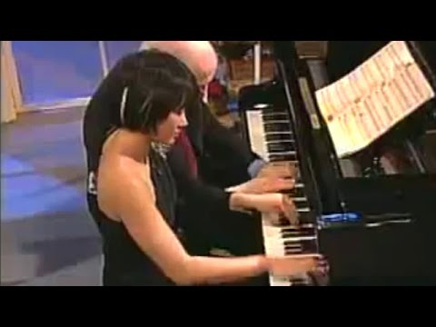 Yuja Wang & Arie Vardi: Ravel Ma mère l'Oye for piano four hands