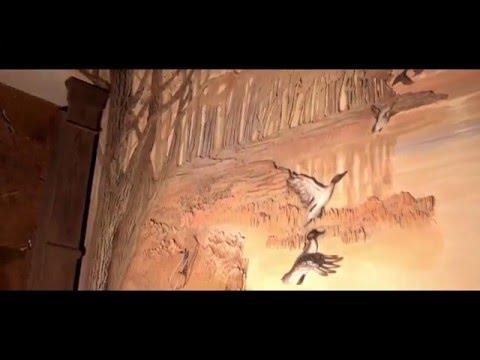 Барельеф в интерьере, Bas-relief in the interior