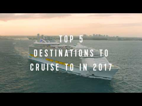 Royal Caribbean Top 5: 2017 Cruise Destinations