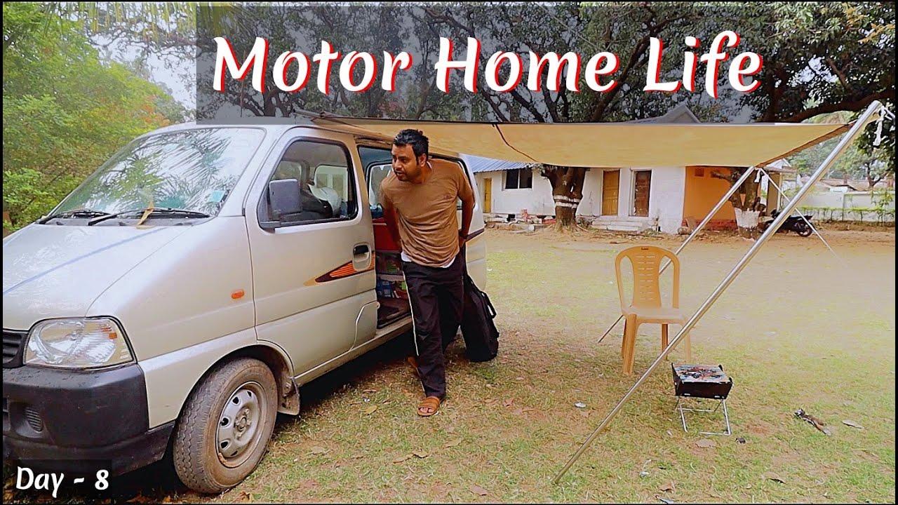 Beautiful Morning in Camper Van | Camper Van in India