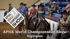 2018 APHA World Championship Show Highlights