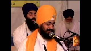 Sant Baba Ranjit Singh Ji Dhadrian Wale Live Manteca Damdami Taksal Gurdwara 2014