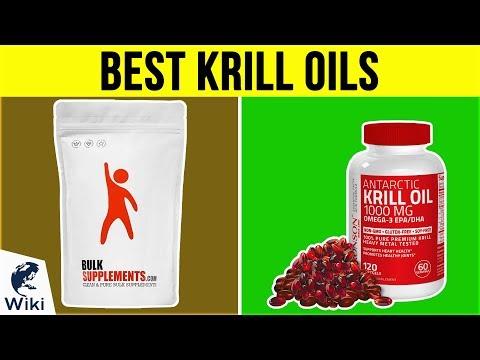 10 Best Krill Oils 2019