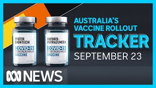 Tracking Australia's COVID-19 vaccine rollout: September 23   ABC News