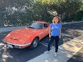 'round The Block:  Driving A 1971 Opel Gt With Elana Scherr And Tom