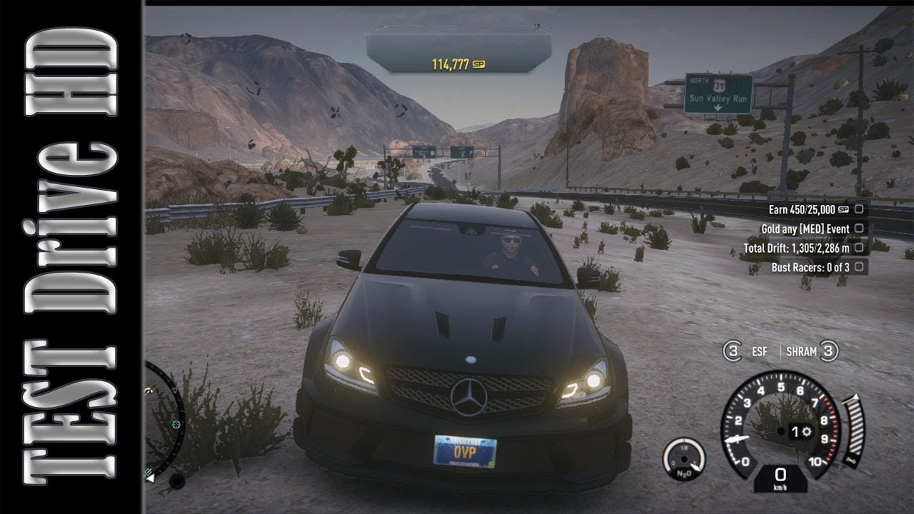 Mercedes Benz C63 AMG Black Series Need For Speed