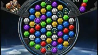 Puzzle Quest Galactrix video demo