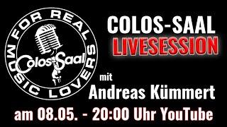 Colos-Saal LIVESESSION Stream mit Andreas Kümmert