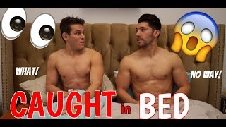 Sleeping In The Same Bed With Your Guy Friend ft Josh Leyva & Josh Santos