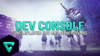 Enable The MW2 Singleplayer Console (Change Your FOV & Other Dvars)
