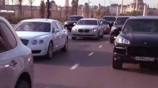 Чеченская свадьба в Грозном  (Дорога)
