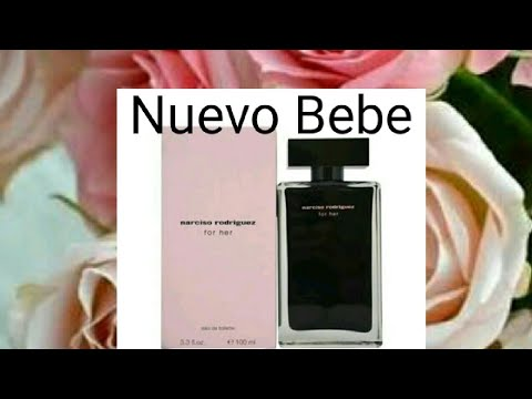 Nuevo bebe a la colección de perfumes Narciso Rodriguez