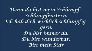 Die Schlümpfe - Schlumpfenstern - Lyrics