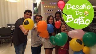 Desafio do Balão com Julia Silva ,Carol Santina ,234janine e Rick Santina