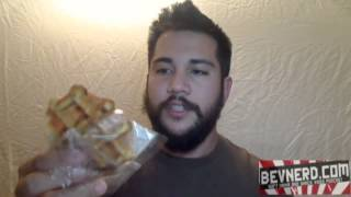 Wired Waffles (maple Bacon/baconsalt  Chocolate Chip) Energy Video Review: Bevnerd #126