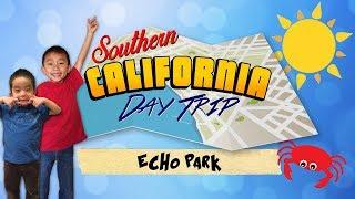 Dodger Stadium Tour & Swan Pedal Boats (Echo Park Lake, Los Angeles Day Trip) / Видео