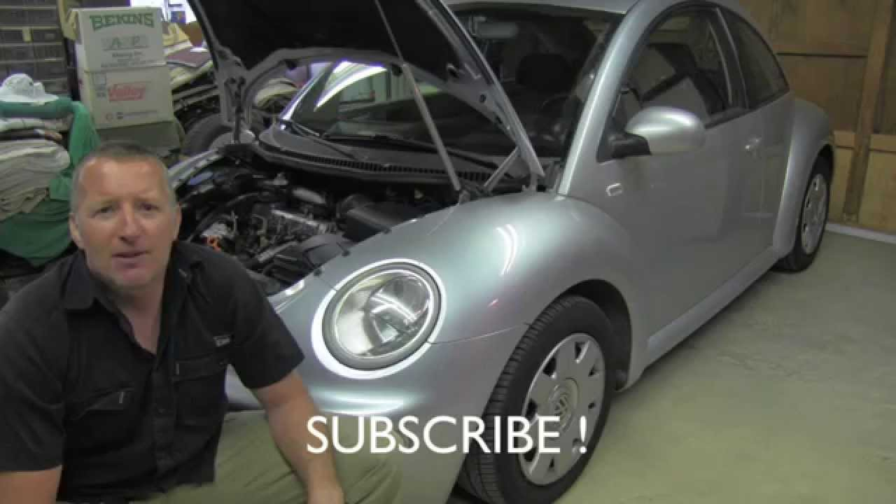 Tdi Engine Serpentine Belt Tensioner Shock Replacement Youtube