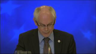 Informal European Council Summit - Preliminary Remarks