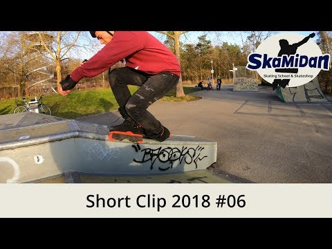 Short Clip 2018#06 – First Sunny Session 2018 #01 – Aggressive Inline Skating Progress