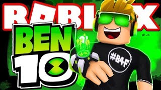 I AM A BEN 10 in ROBLOX SUPERHERO TYCOON