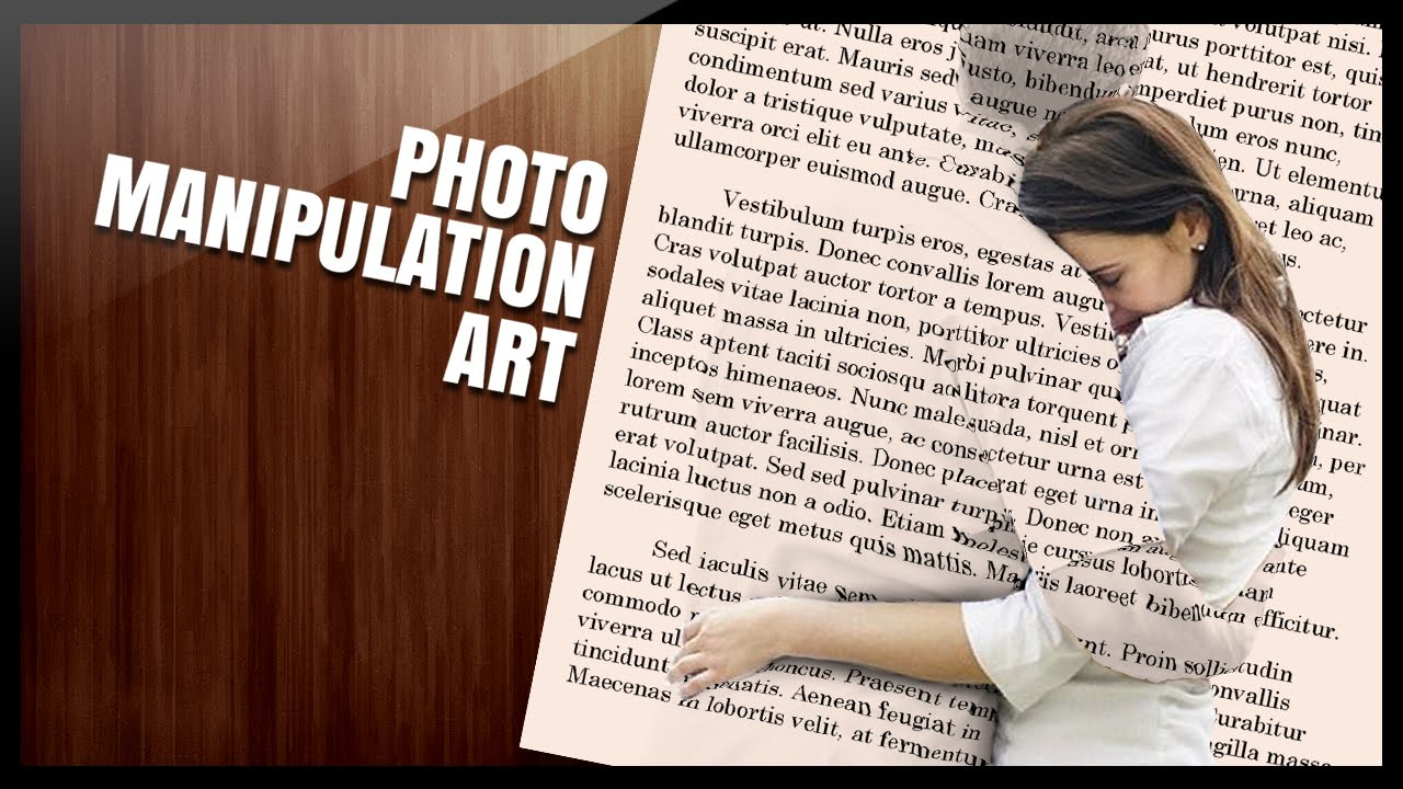 photoshop effects tutorial the couple on the book page youtube