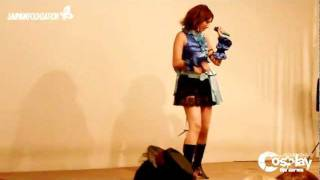 Yuna - Real Emotion Cosplay Dance Cover by Valerie Aya LIVE at CTS Expo 2011