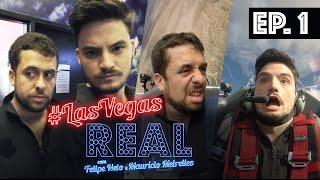 LAS VEGAS REAL EP 01 - Chegada em Vegas, Hotel Tropicana, Sky Combat e muito mais!