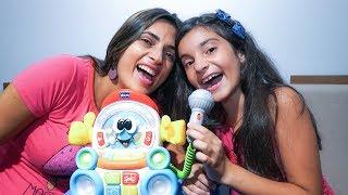 Desafio Crie uma Música na Hora - Yasmin Verissimo - Robob gravador falante da Chicco