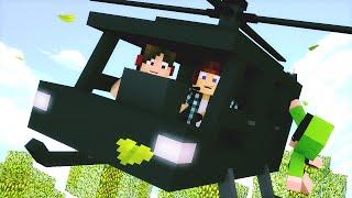 Minecraft : CONSTRUÍMOS UM HELICÓPTERO !! - ARK CRAFT SURVIVAL #23