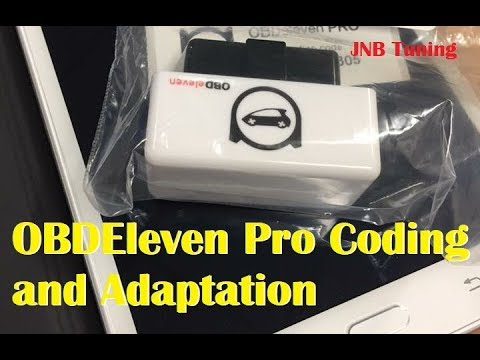 MK7 Golf TSI OBDEleven Pro Coding and Adaptation Top Suggestions