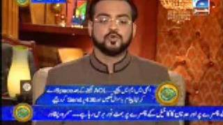 Alim On Line Dr Amir Liaqat`s True Face - Is this the true Islam THINK 1