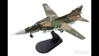 Hobby Master MiG-23MF チェコスロバキア空軍 第1戦闘航空連隊 第2飛行隊 チェスケー・ブジェヨヴィツェ基地 92年 #3922 1/72 [HA5305]